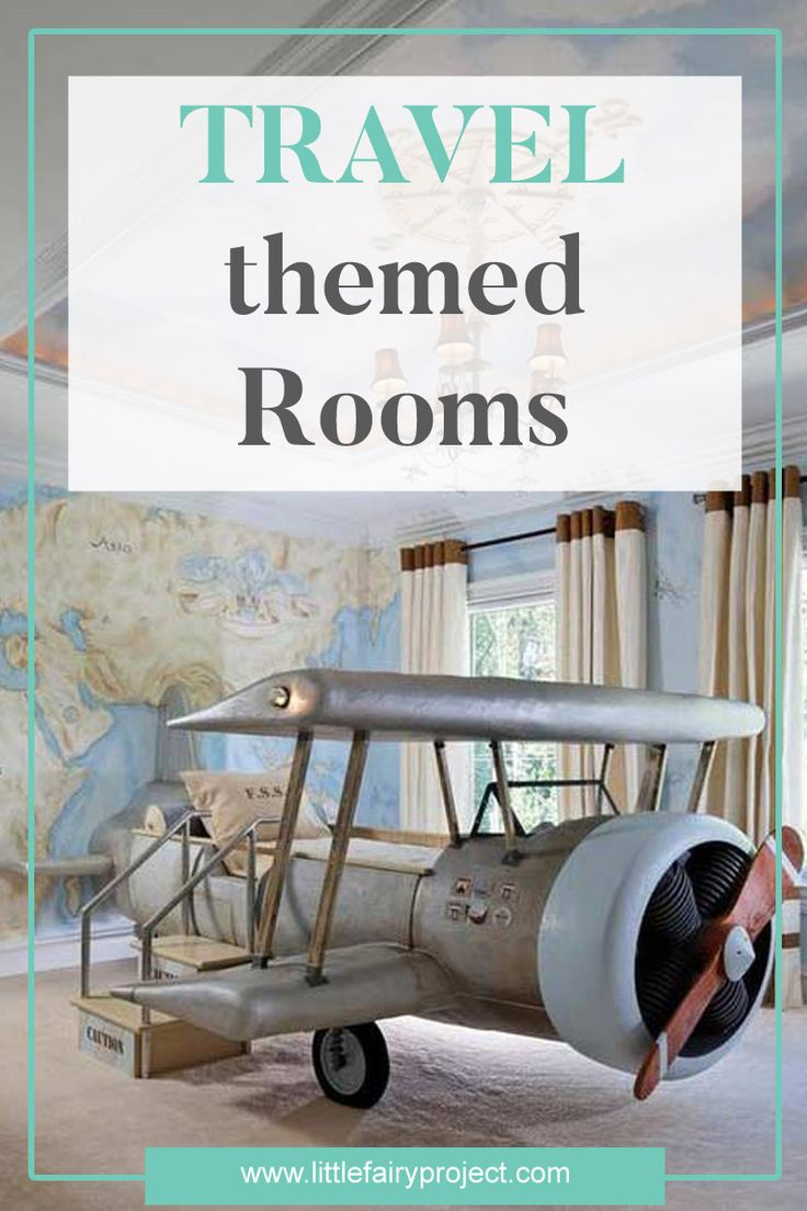 Travel Inspired Kids rooms and nurseries | Kids Design | Adventure inspired Furniture and decor for kids | Tips and Ideas | Inspiration