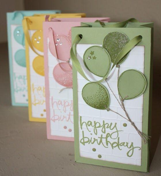 99 Luftballons..., Partyballons, Luftballonstanze, Watercolor Words, Punchboard für Geschenktüten, Prägeform Ziegel, Geburtstag