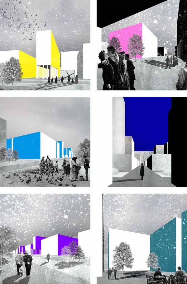 collage minimal