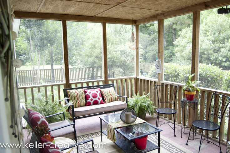screened porch decorating cabin pinterest
