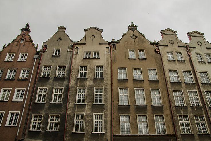 gdansk old town buildings