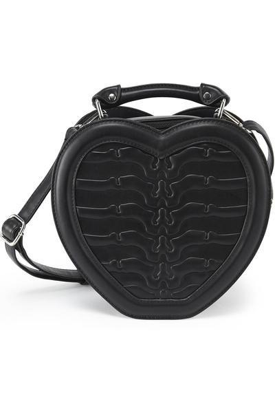 Black Heartz Handbag [B]