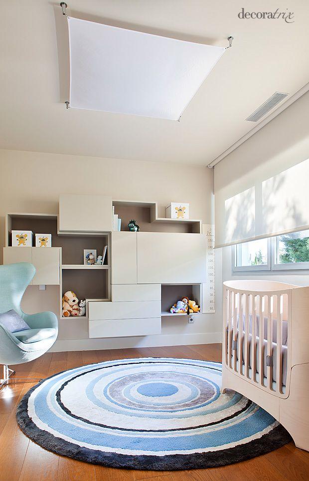 17 mejores im genes sobre habitaciones infantiles y - Habitaciones infantiles azules ...