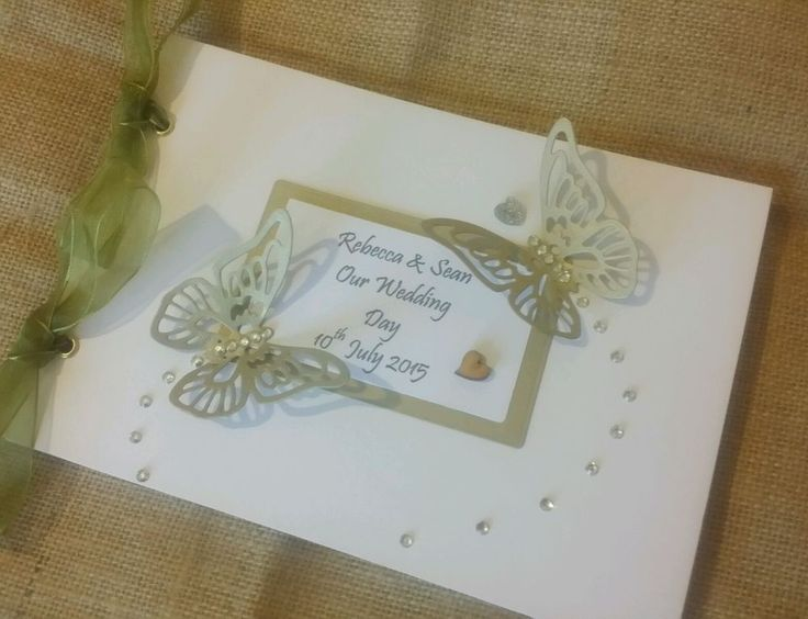 Personalised A5 Diamante Wedding Album Planner PlanDiary Guest Book Christening