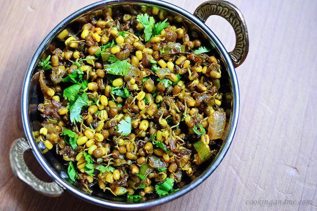 Moong Usal Recipe - A Popular Maharashtrian Dish