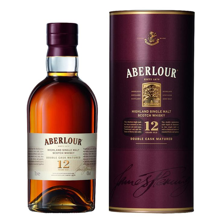 Aberlour 12 year - Double Cask Matured.  Aberlour is one of my favorites.