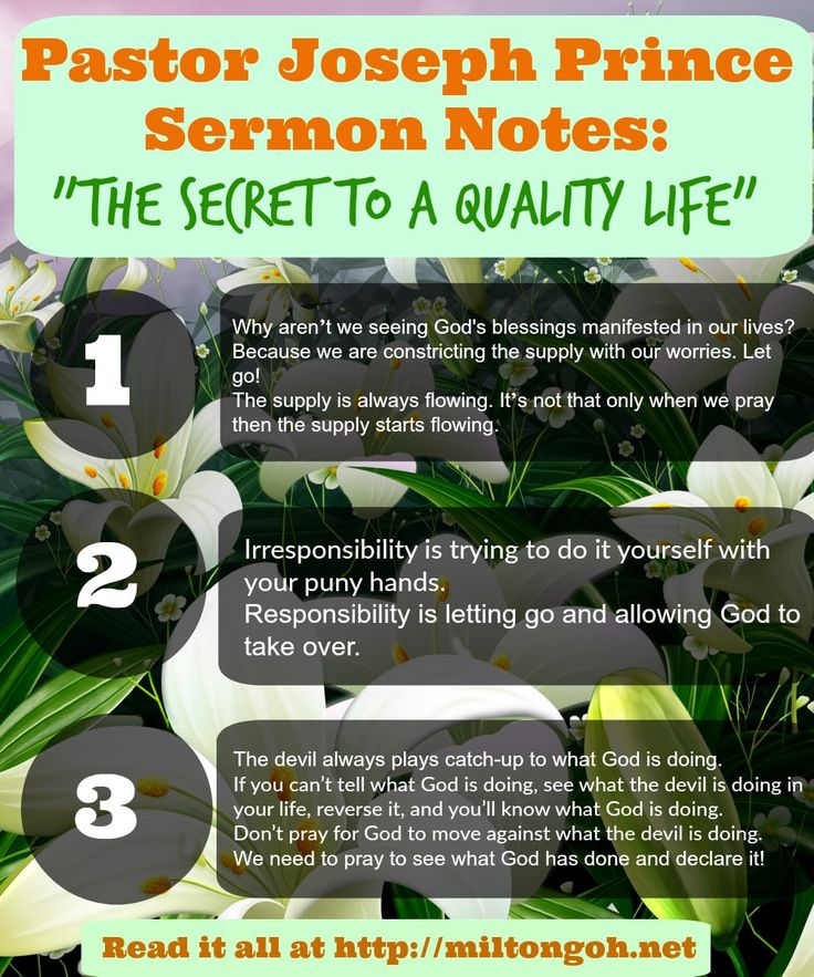 Pastor Prince Live at Lakewood Church: The Secret to a Quality Life - Pastor Joseph Prince Sermon Notes Online - New Creation Church #josephprince #pastorprince #pastorjosephprince #lakewoodchurch #nccsg #newcreationchurch #sermonnotes #sermon #sundayservice #jesus #qualitylife