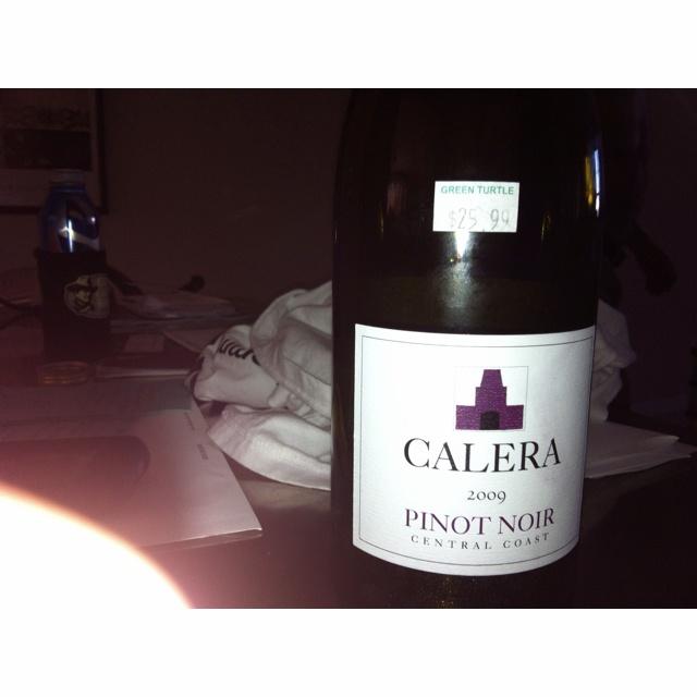 Pinot Noir Calera - nice one medium priced