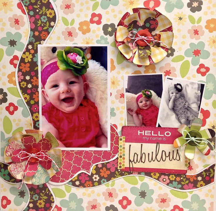 Kiwi Lane Designs  Single page Single picture