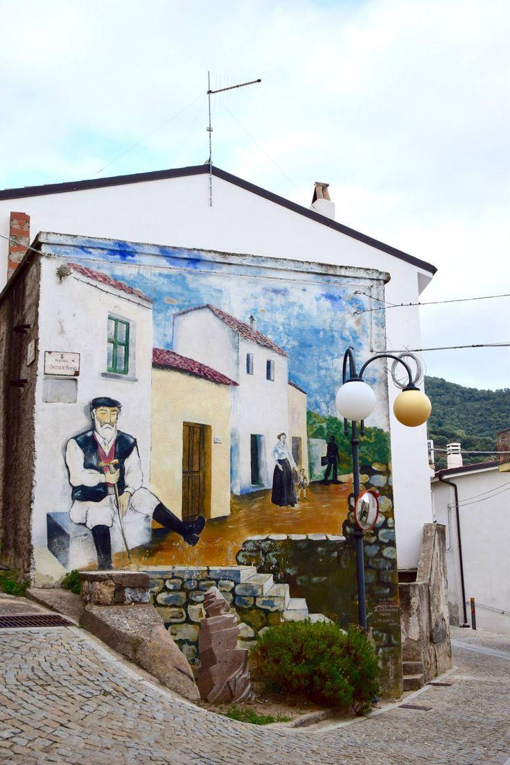 Murales a Triei, Ogliastra