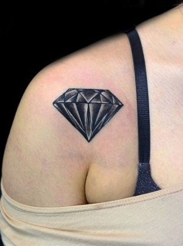 Best Diamond Tattoo Designs   InkDoneRight  These dazzling gemstones are the most treasured in the world, and for good reason: they're beautiful. Take a look at some of the Best Diamond Tattoos...