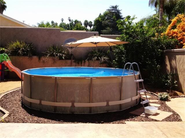 Intex Above Ground Pool Landscaping Ideas 7 best pool deck surround ideas images on pinterest | above ground