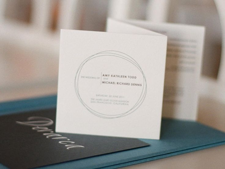25 Ceremony Program Ideas You'll Love | TheKnot.com