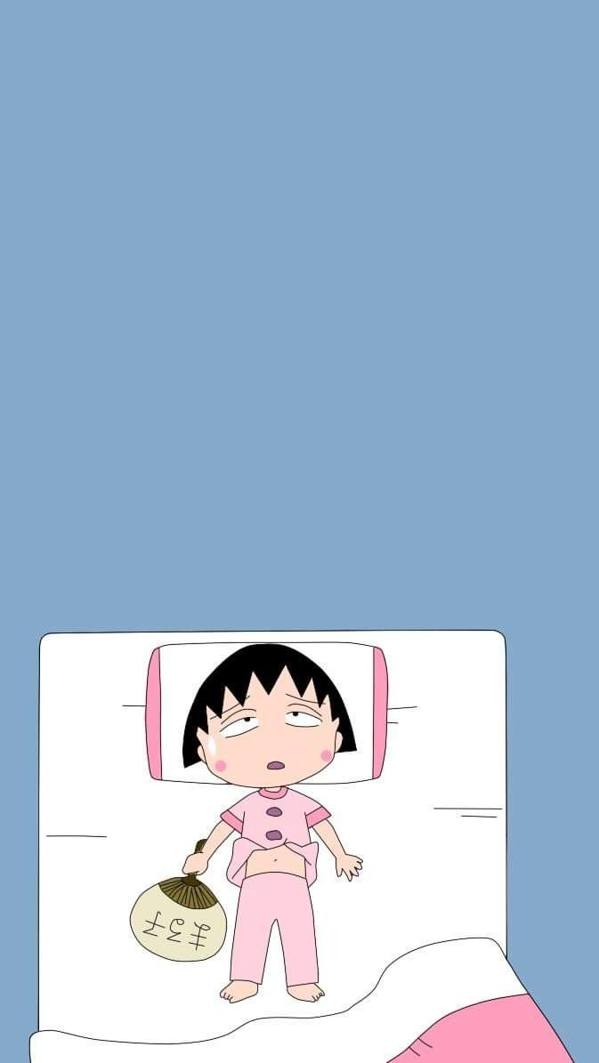 Pin Oleh Mi Na Di Chibi Maruko Chan Kartun Animasi Ilustrasi