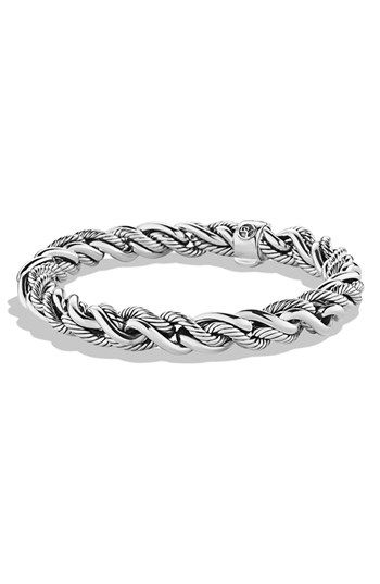 David Yurman Woven Cable Bracelet Available At