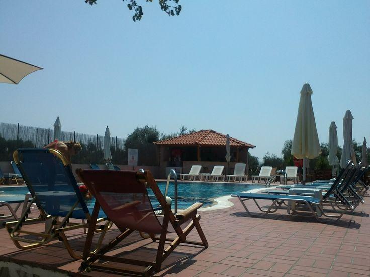 pool, sun,greece