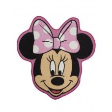 Minnie Mouse 'Makeover' Shaped Floor Rug  $29.95 + Postage! Shop it Here > http://www.babyluscious.com.au/characters/minnie-mouse%20/minnie-floor-rug