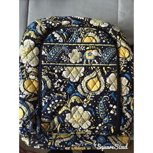 Vera Bradley Laptop Backpack laptop backpack. Fits a 15in MacBook Pro. Only used for one semester of college Vera Bradley Bags Laptop Bags