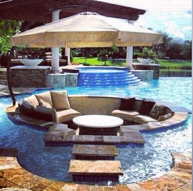 1000 images about dream backyard on pinterest fire pits garden structures and waterfalls for Swimming pool meaning in dreams
