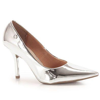 Sapato Scarpin Feminino Vizzano - Prata