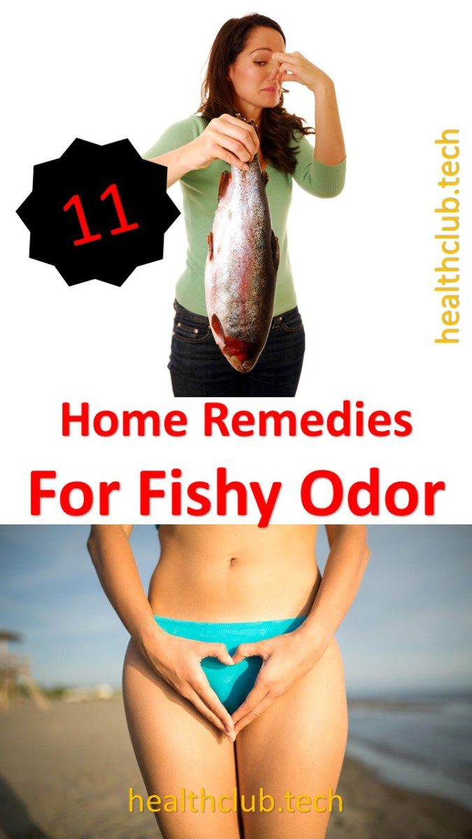 Other reasons for fishy odor vagina