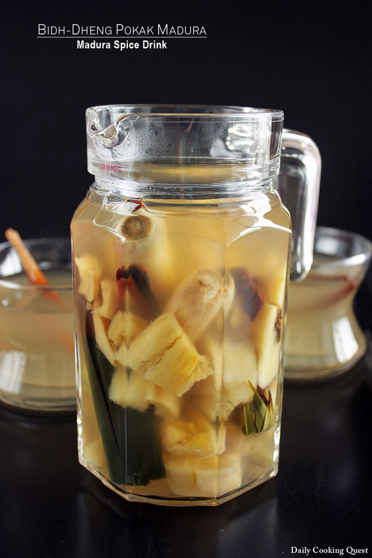 Bidh-Dheng Pokak Madura - Madura Spiced Drink