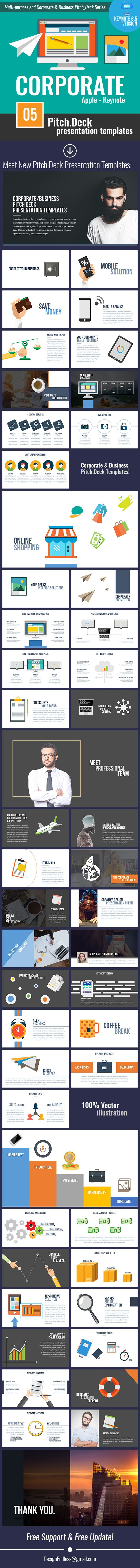 Pitch.Deck - Corporate Keynote/PowerPoint Design, from GraphicRiver.