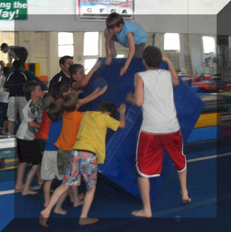 Great Falls Gymnastics Academy, Auggie would love a gift certificate to this place!