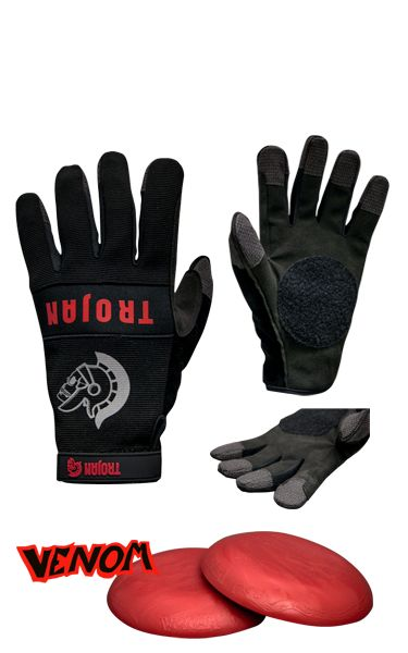 Trojan Synthetic Slide Gloves LG/XL