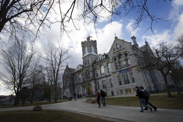 Queen's University Kingston ON One of Canada's oldest universities.
