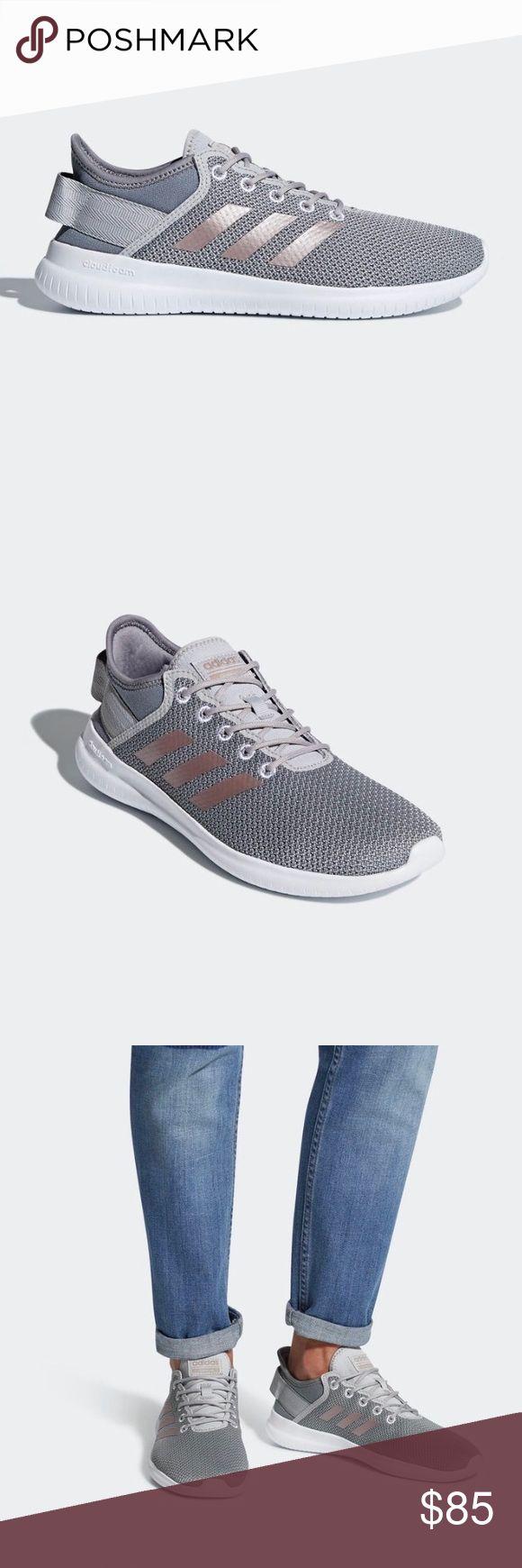 Spotted while shopping on Poshmark: NEW Adidas Gray Cloudfoam QTFlex Running Shoes! #poshmark #fashion #shopping #style #adidas #Shoes