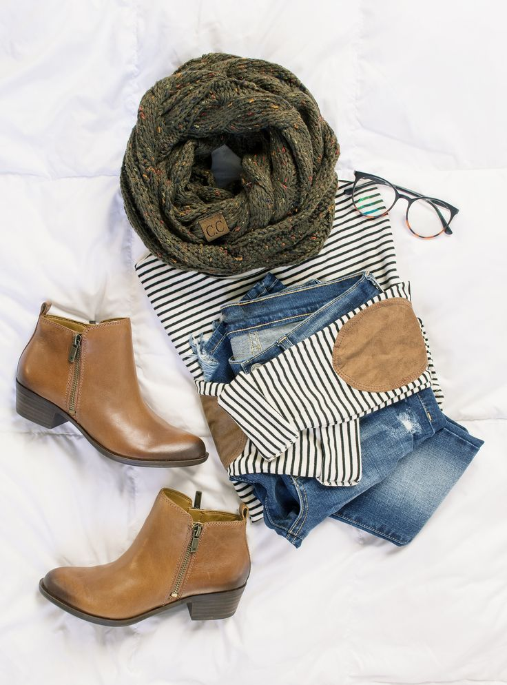elbow patches + booties