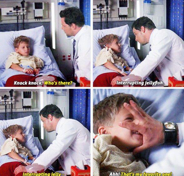 Grey's Anatomy - Such A CUTE Scene! Oh Karev .