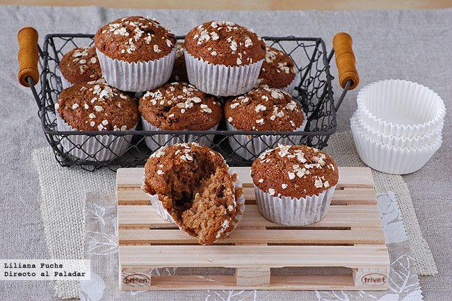 Directo al paladar nos trae esta receta de muffins de puré de manzana y avena con leche de almendras. Con fotos del paso a paso, consejos y sugerencias de degustación. #muffin #avena #purédemanzana #AlmondBreeze