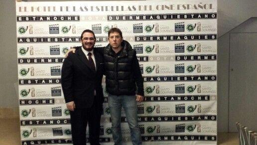 El maestro de ceremonias, el gran presentador y un amigo del @HotelSantoDomingo Madrid con ustedes Manel Fuentes  (@fuentes_Manel)