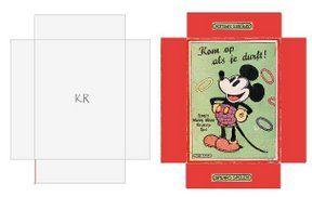 Miniature Printables - Vintage Mickey Mouse