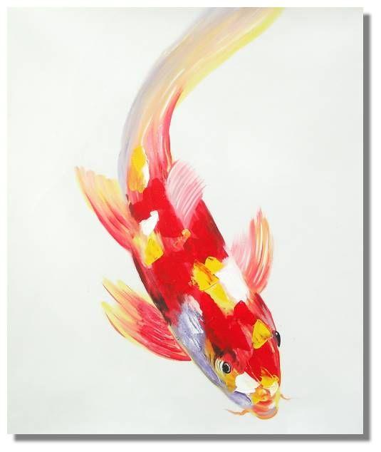 453 best images about fish art on pinterest koi art for Koi fish canvas art