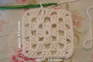 Solid Granny Square Pattern