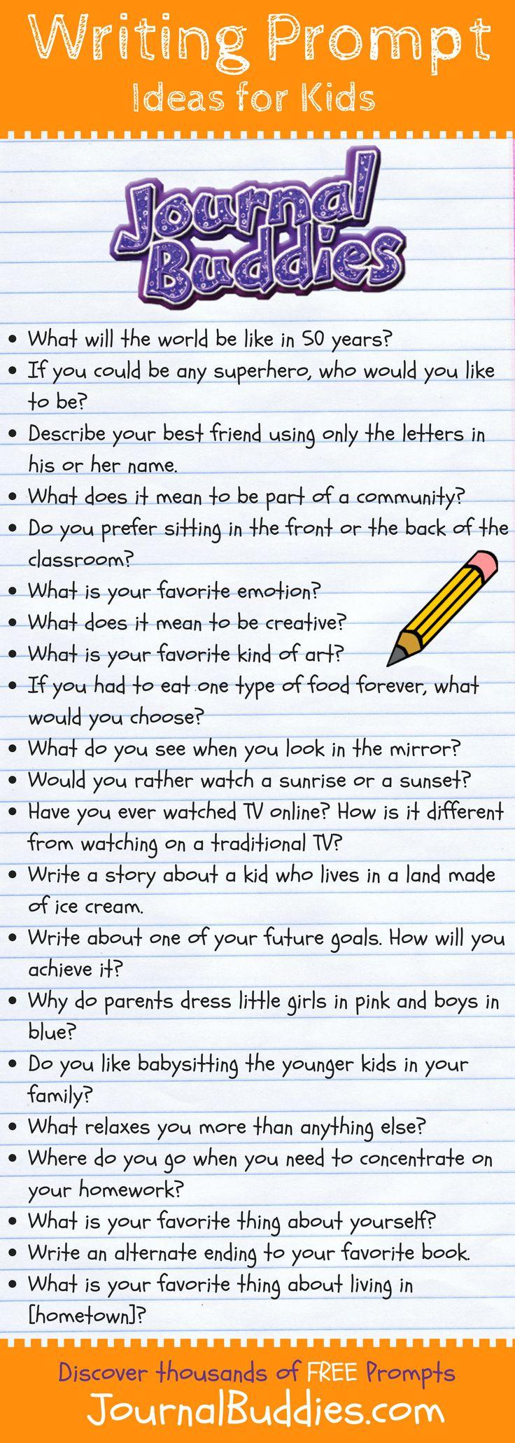 Imaginative essay topics for grade 6