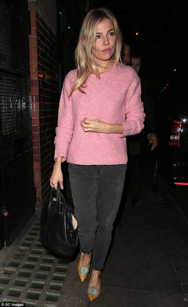 Blonde beauty: Sienna Miller looked radiant as she left the Apollo Theatre after another showstopping performance of Cat on a Hot Tin Roof on Wednesday night