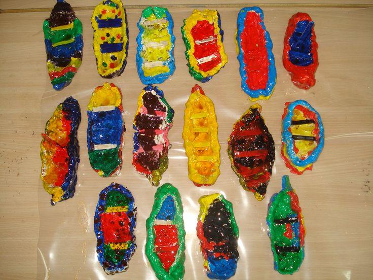 botes de greda