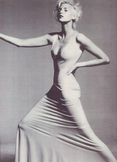 Nadja Auermann - Vogue by Irving Penn, July 1996...is 1996 vintage in 2012?