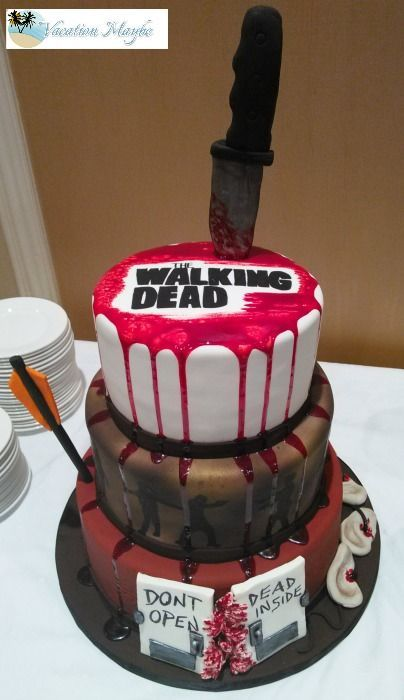 walking dead edible cake images
