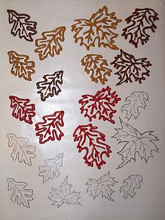 put wax paper over a picture then trace with melting chocolate and fill in to make decorative choco pieces.