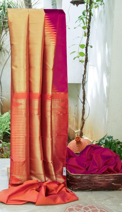 KANCHIVARAM SILK L04105   Lakshmi