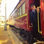 All Aboard!  The Polar Express at the Texas State Railroad in Palestine, Texas. www.visitpalestine.com
