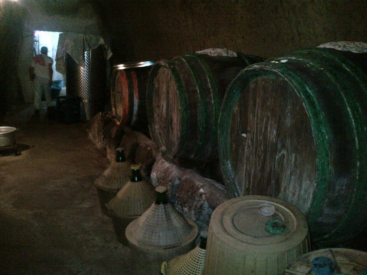 L'antica cantina di Buonopane...