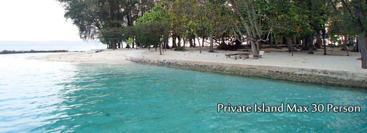 Pulau Genteng Private Island Max 30 Person