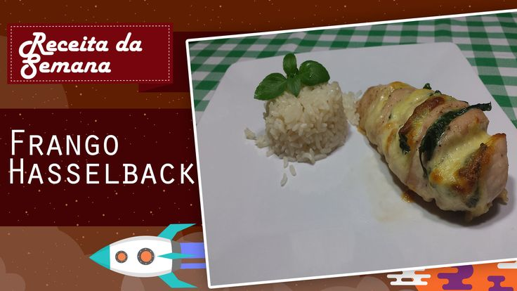Ingredientes:  Frango  Espinafre  Queijo Mozzarella  Sal e pimenta a gosto  Azeite de oliva a gosto