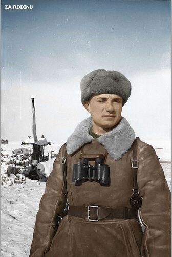 Soviet Anti Aircraft gunner - battle for Stalingrad